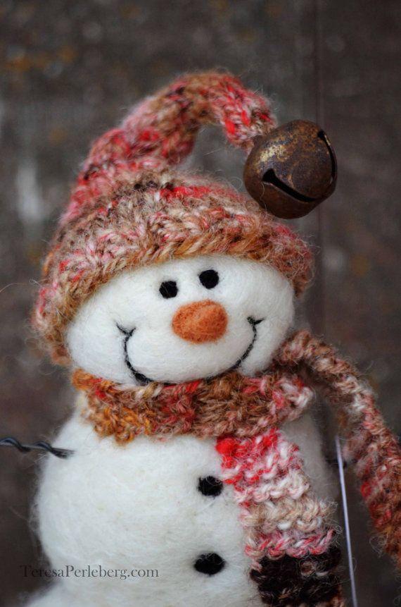 450 best Wool Snowmen of Bear Creek images on Pinterest  Felt