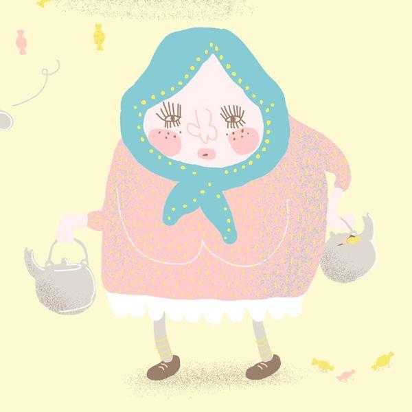 Witches by Elina Johanna Ahonen, via Behance