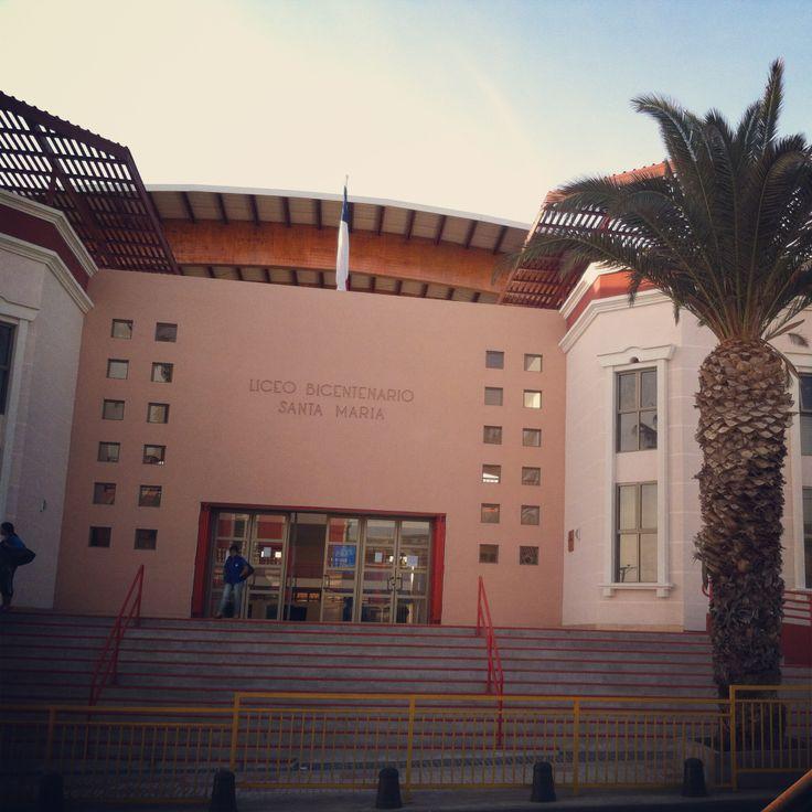 Escuela Santa María (Iquique) #Chile