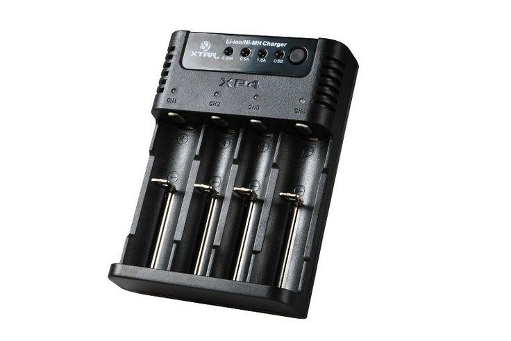 Xtar XP4 Panzer Li-Ion akkumulátor töltő