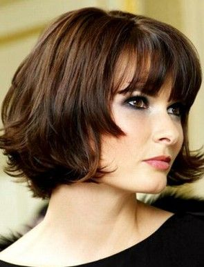 Classic Smart Short Wavy Lace Front Human Hair Bob Wig 10 Inches