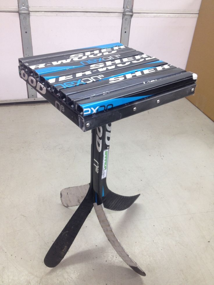 43 best images about hockey stick furniture ideas on Pinterest