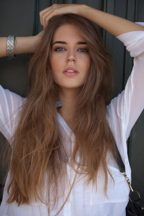 If I thought my hair would look this good, I'd grow it out like this