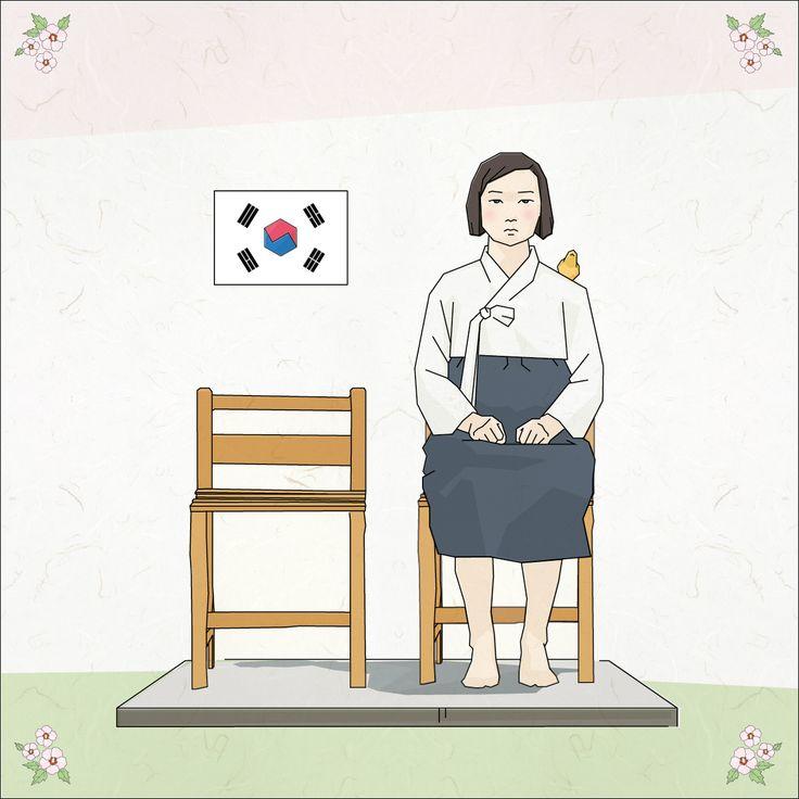 평화의 소녀상 그래픽작업 #평화의소녀상 #그래픽디자인 #아트웍 #일러스트 #graphicdesign #illust #artworks #korea #lineillust