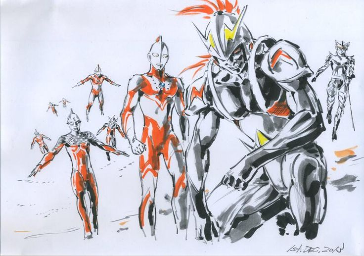 Ultramen by Junichi Hayama | 羽山淳一 *