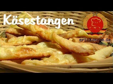 Käsestangen - Essen in der DDR: Koch- und Backrezepte für ostdeutsche Gerichte | Erichs kulinarisches Erbe