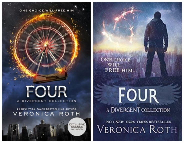 Last in the Quadrilogy but not actually part of the story. This is the tale of Tobias Eaton/Four.
