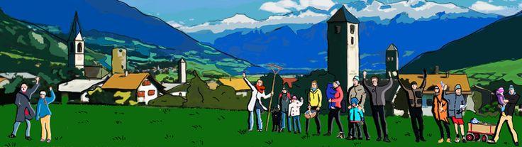 Logo: Unterstützt die Pestizid-Rebellen Die BürgerInnen aus dem Südtiroler Dorf Mals haben als erste Gemeinde Europas beschlossen, Pestizide in ihrem Ort zu verbieten. Doch die Landesregierung will lokale Pestizidverbote unmöglich machen, indem sie den Gemeinden die Zuständigkeit entzieht.  Fordern Sie jetzt den Südtiroler Landeshauptmann auf, das Malser Pestizidverbot zu unterstützen und zum Vorbild für ganz Südtirol zu machen.