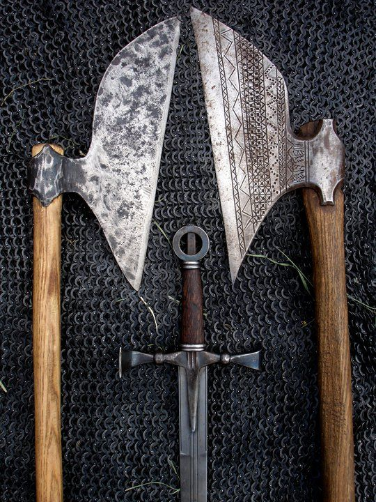 Vikings: #Viking blades. For more Viking facts please follow and check out www.vikingfacts.com don't forget to support and follow the original Pinner/creator. Thx