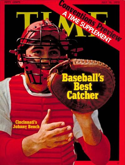 TIME Cover: Johnny Bench