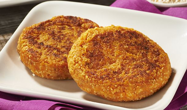 Tortitas de camote y amaranto