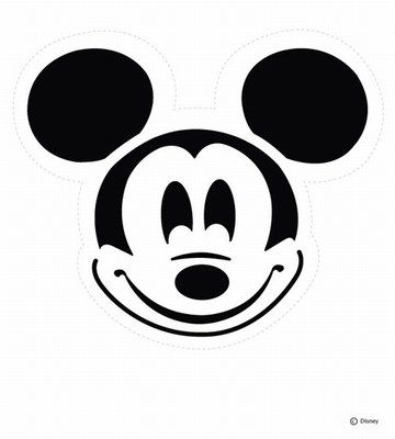 Mickey Mouse Pumpkin Stencil