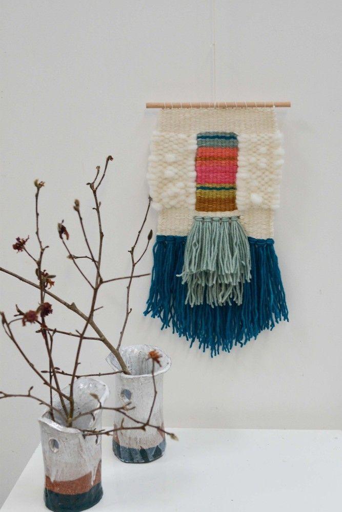 Natalie Miller springtime tapestry weaving kit