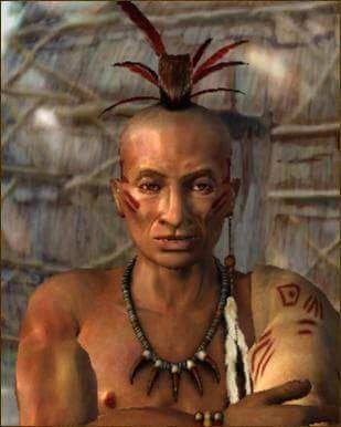 Logan. Chief of Mingo tribe-Iroquois Confederation ...