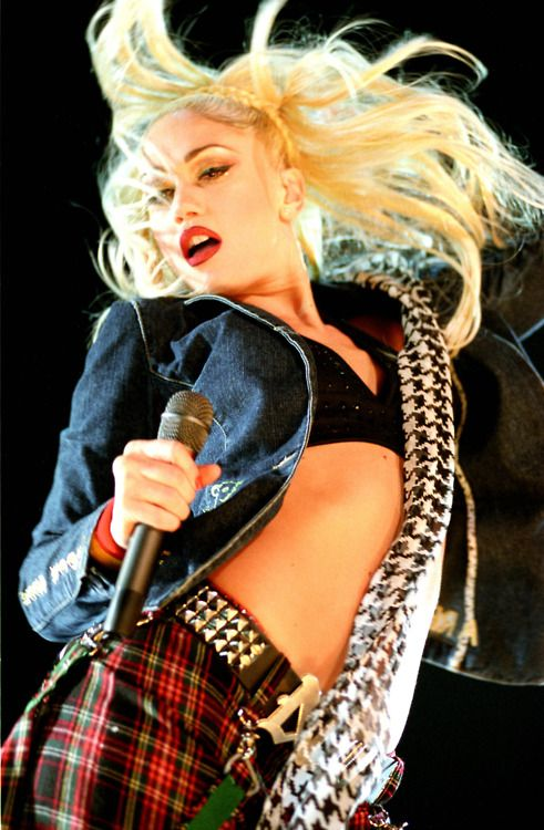 Gwen Renée Stefani is an American singer-songwriter, fashion designer and actress. Stefani is the co-founder of and lead vocalist for the rock and ska band No Doubt. Stefani recorded Love. Angel. Music. Baby., her first solo album, in 2004.