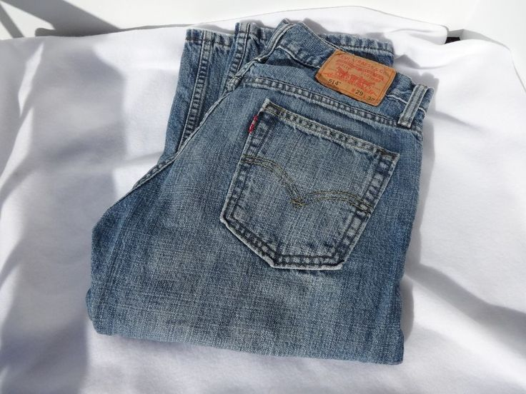 Levis 514 Jeans 29X30 Worn Condition Light blue Denim Slim Fit  #Levis #SlimFit