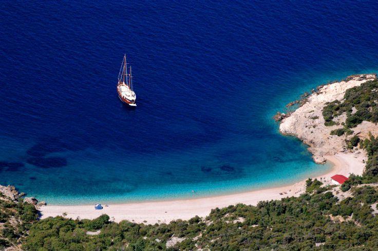 Blue lagoon - Lubenice, Cres Island