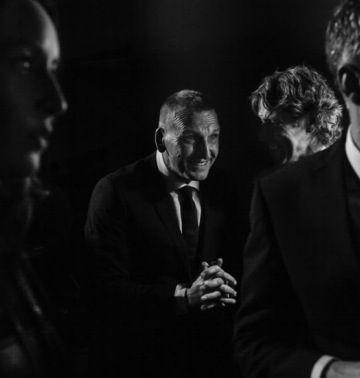 Christopher Eccleston, backstage age BAFTAS
