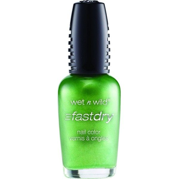 Wet n Wild Fast Dry Nail Color 225C Sage in the City ($4.99) ❤ liked on Polyvore featuring beauty products, nail care, nail polish, wet n wild and wet n wild nail polish