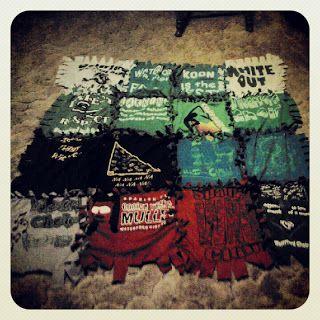 Taylor Talks: No Sew T-Shirt Blanket