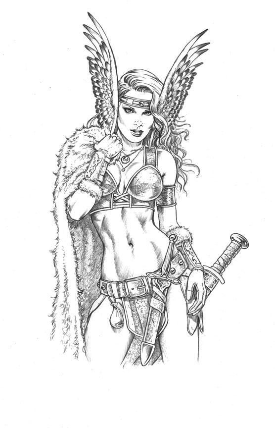 Valkyrie warrior