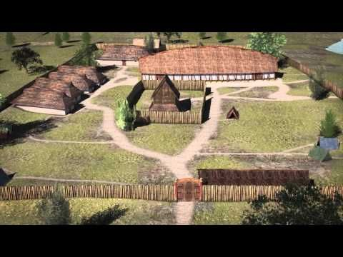(227) The royal residence at Tissø. 3D-animation of the royal residence from the Viking Age at Lake Tissø, Denmark | Lars Jørgensen - Academia.edu
