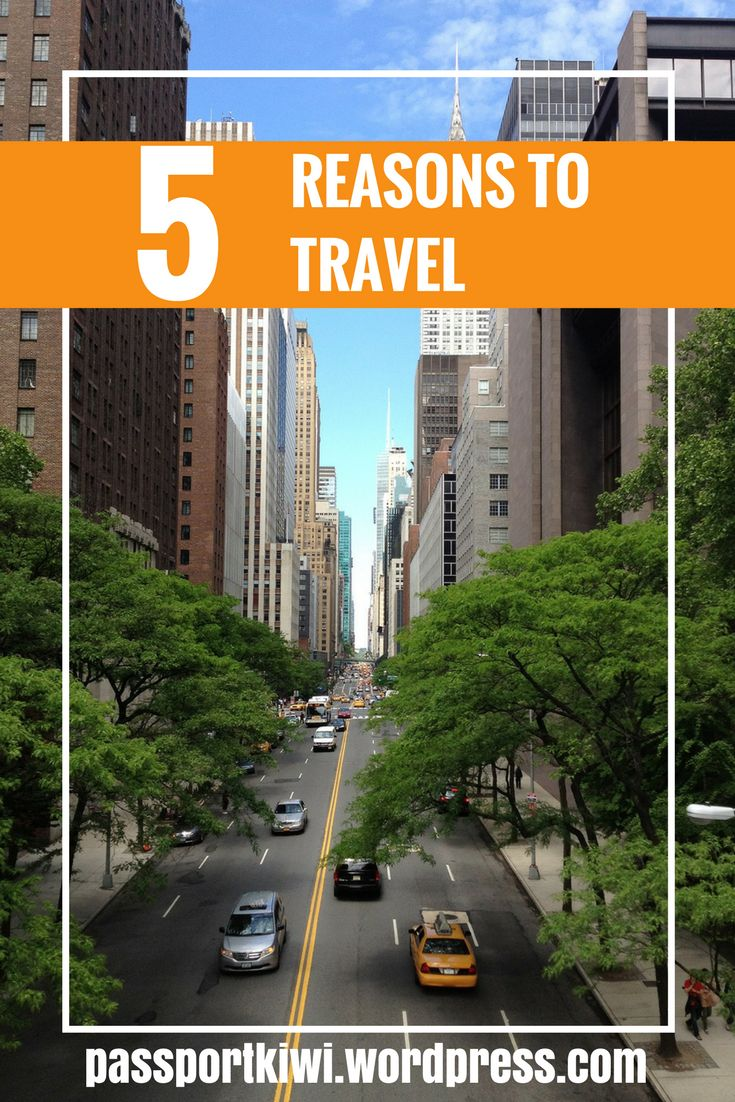 Passportkiwi presents 5 reasons to travel. Not that you travel addicts needed any more justification in fuelling your wanderlust.
