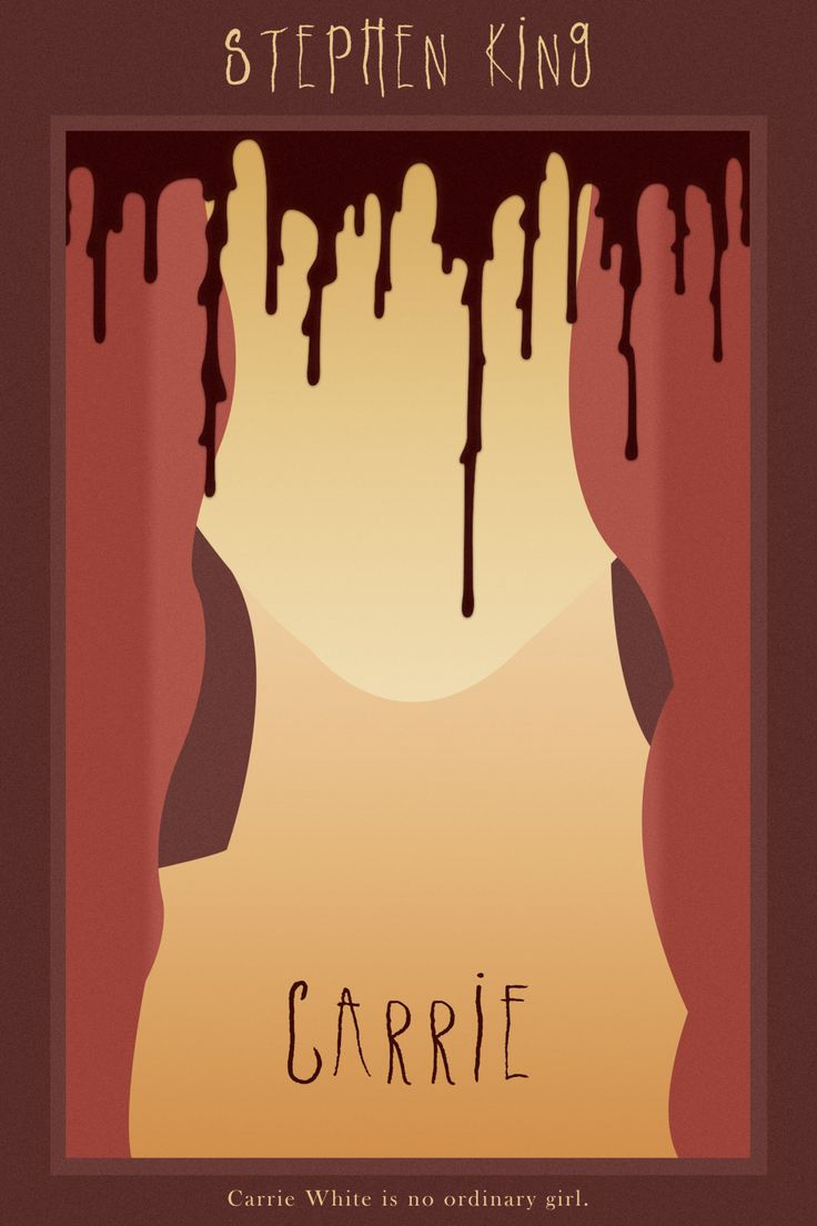 Carrie (2013) ~ Minimal Movie Poster by Gian Bautista #amusementphile
