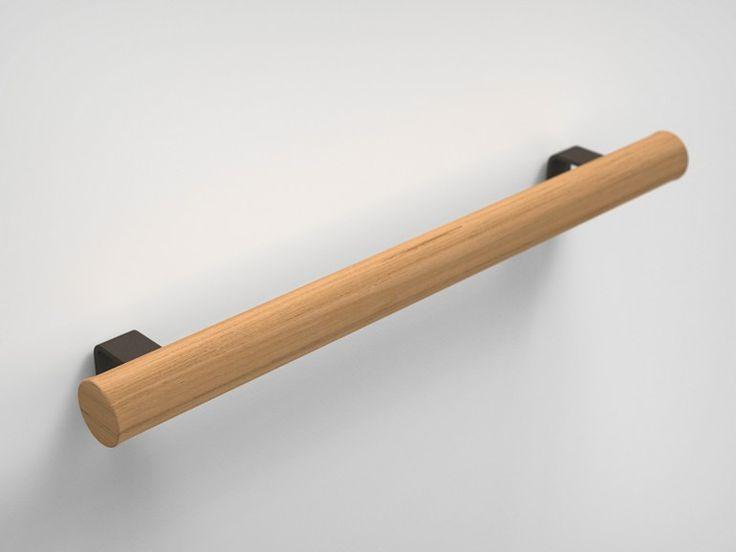 Handtuchstange aus Irokoholz Kollektion Twig by Boffi Design Keiji Takeuchi