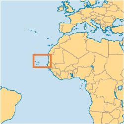 "A locator map of Cape Verde Islands ""do you really want to go ?"