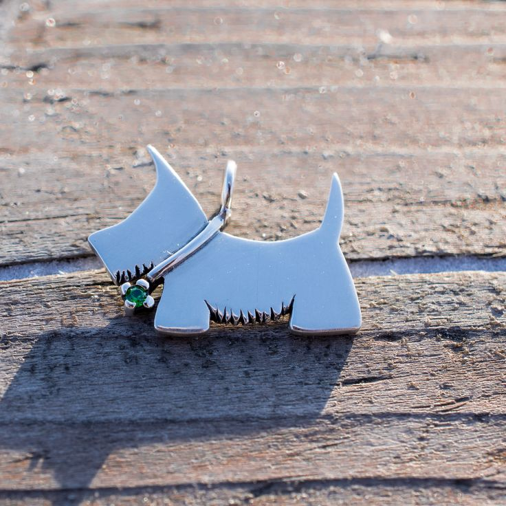 Cute dog - my handmade silver jewelry, selling on www.ElionDesign.etsy.com