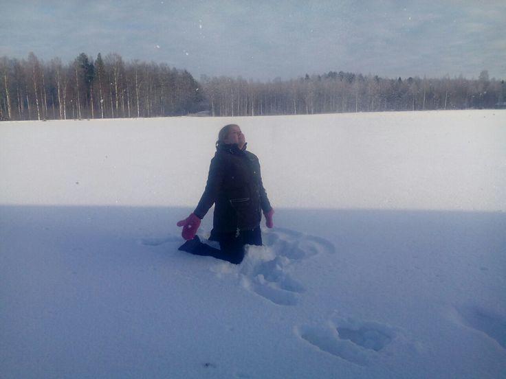 Luodaan jotain kaunista, lunta