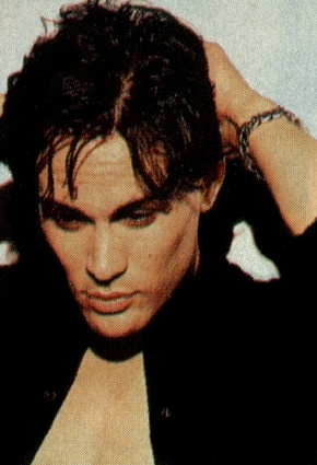 Brandon Lee, There's just something about him that I love. The Crow is one of my favorite movies till this day.