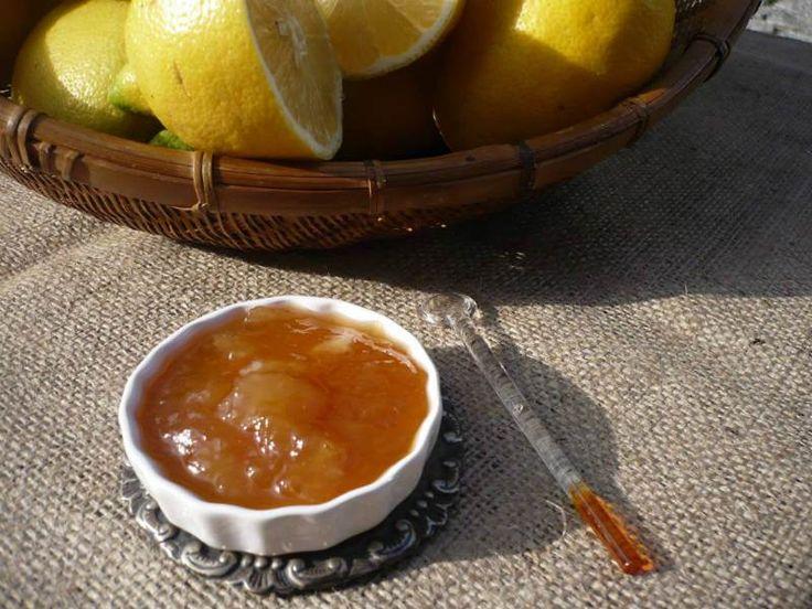 Zencefilli Limon Reçeli - Dilek Erol #yemekmutfak