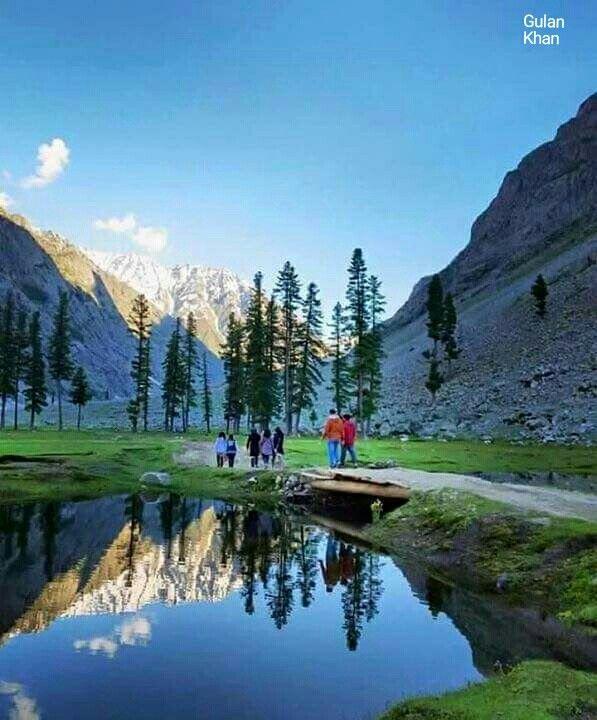 Awesome beauty of Mahodand lake Kalam Swat valley Khyber Pakhtunkhawa Pakistan