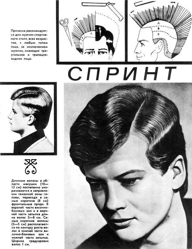 Прически и макияж 1970-1980-х