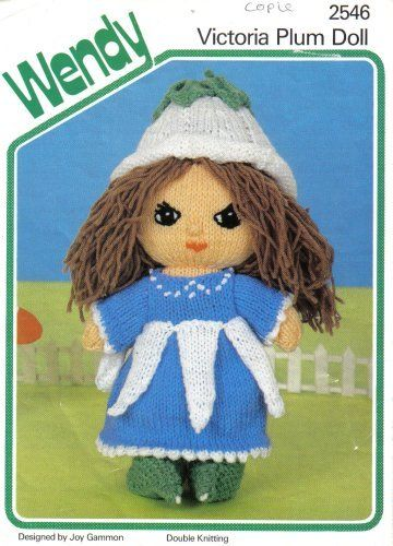 Wendy Knitting Patterns For Dolls : 17 Best images about book & patterns I have in my ...