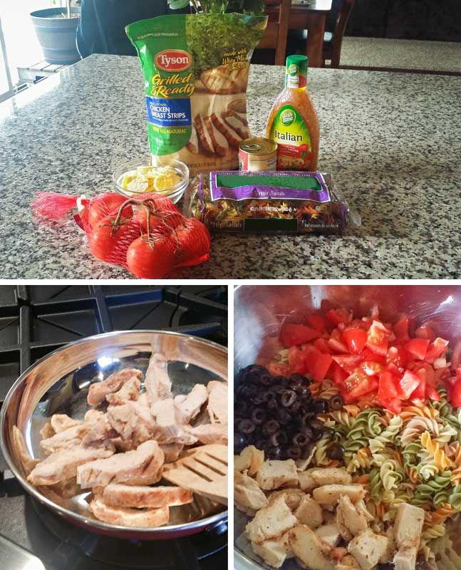 Italian Pasta Salad is an easy side dish that includes