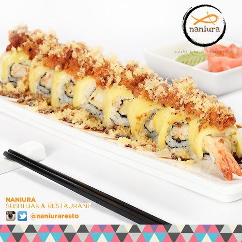 #NaniuraSpicyRoll Our favorite for spicy junky! Lets order: Naniura Sushibar Restaurant Jakarta Timur 021-86611789 || Tag ur reviews #NaniuraSushi #Sushi #FoodPorn #SushiLover #SushiResto #SushiRoll