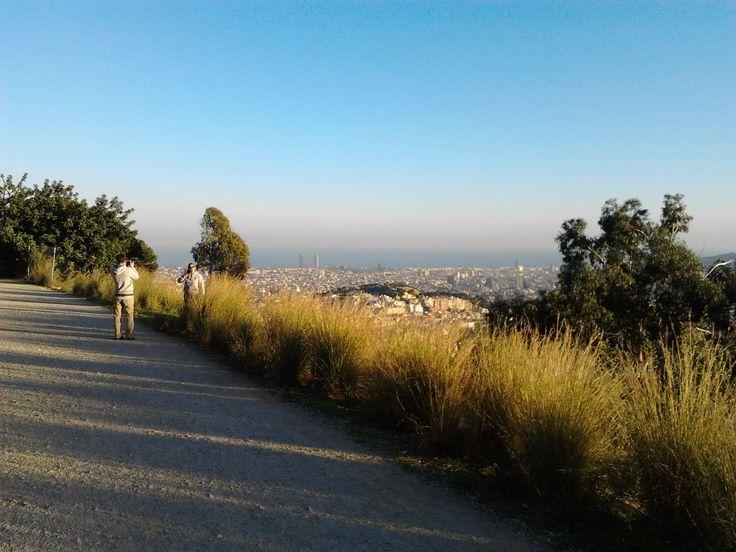 Carretera de les aigues, Barcelona -