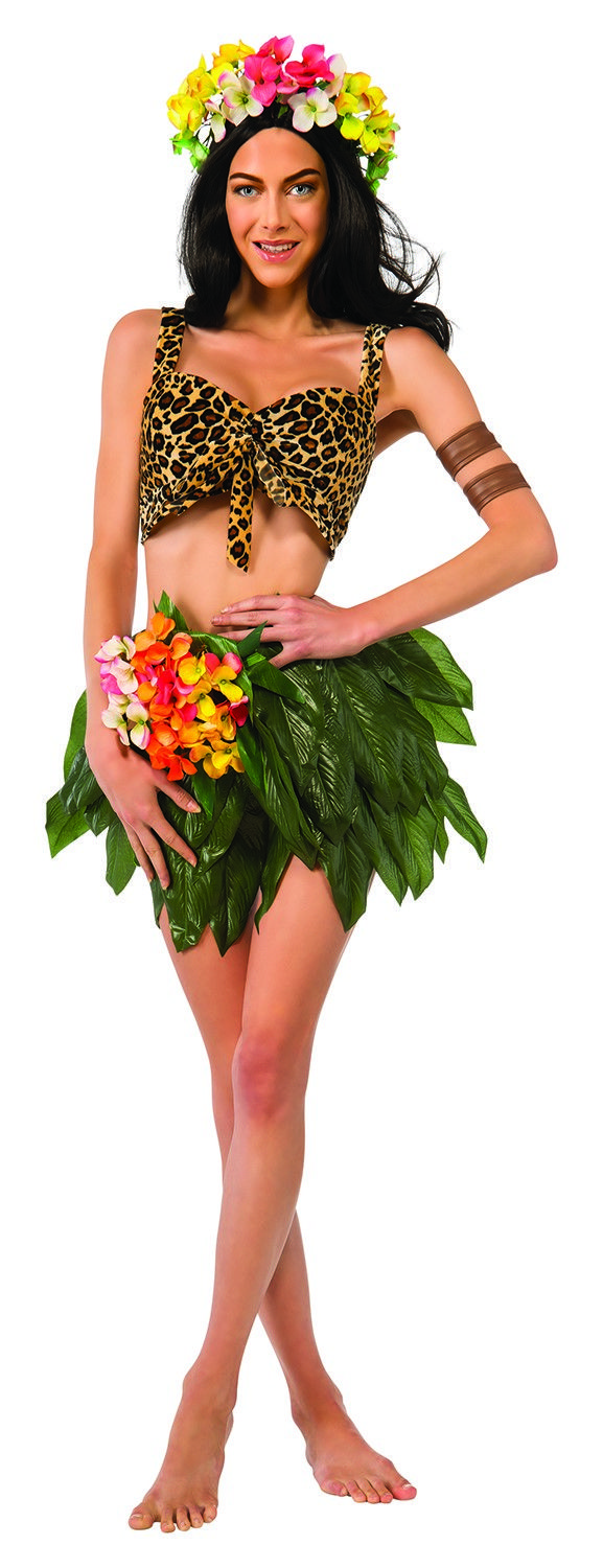 "Katy Perry ""Roar"" Jungle Girl Adult Costume Standard Size"