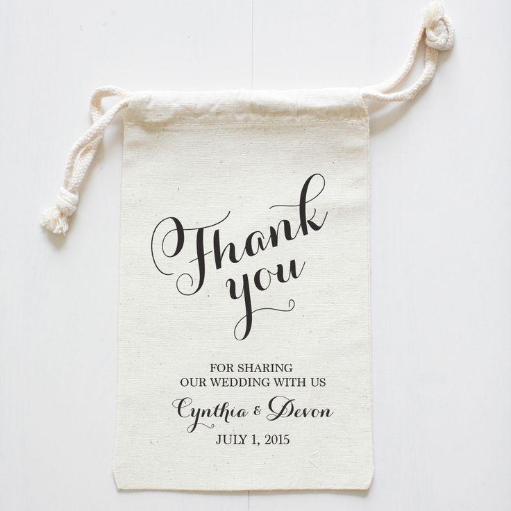 custom wedding favor bags   wedding chicks