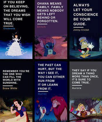 The things that Disney taught us is life changing, even if we didn't realize it until many years later.