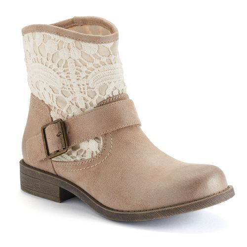 Muddu00ae Womenu0026#39;s Crochet Ankle Boots #Kohls | Letu0026#39;s Get Some Shoes | Pinterest | Other Kohls And Shoes