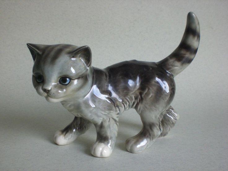 Porzellan Katze Goebel Porzellan Western Germany Nr.31024 gemarkt im Topzustand…