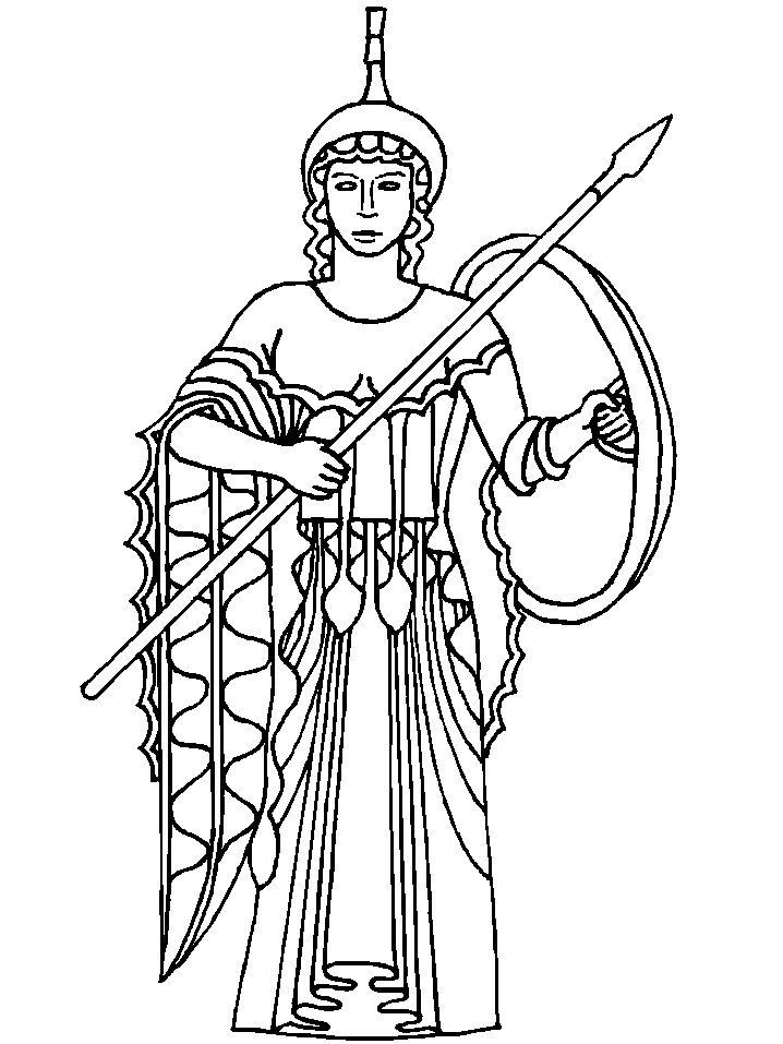 113 best coloriage grece antique images on pinterest   greek ... - Ancient Greek Gods Coloring Pages