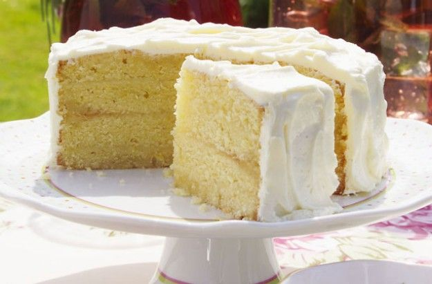 Lemon Sponge Cake (grams)