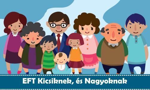 Az EFT (Érzelmi Felszabadítás Technikája) sokféleképpen felhasználható segítő, önfejlesztő módszer. Az EFT használható gyógyításra testi, és lelki szinten egyaránt. Emellett az EFT -vel hatékonyan lehet segíteni az Ön gyermekével előforduló nevelési, tanulási problémák megoldásában.  Az EFT módszer segítségével úgy kaphat segítséget a gyermeke, és Ön is, hogy önmaga jön rá a problémáinak megoldására, és végig motiválva érzi magát, hogy a felmerülő kérdésekben megoldást találjon.