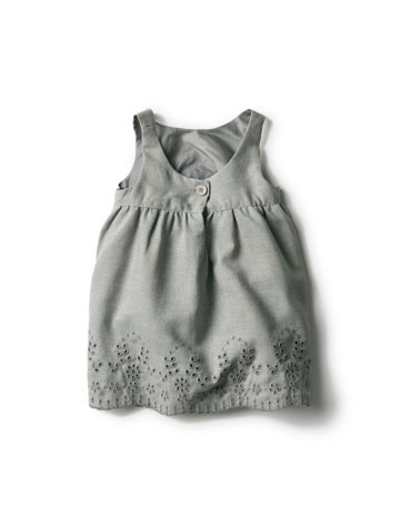 Dress with Embroidery Zara $32.90