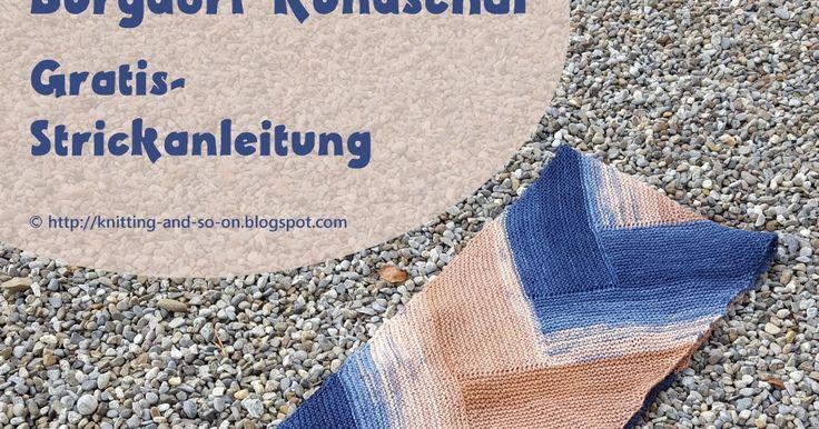 86 besten Schals stricken Bilder auf Pinterest | Blusen, Schals und ...